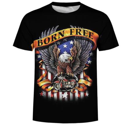 America Born Free Eagle T-Shirt
