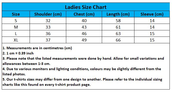 Craewaz Ladies Size Chart 3-1
