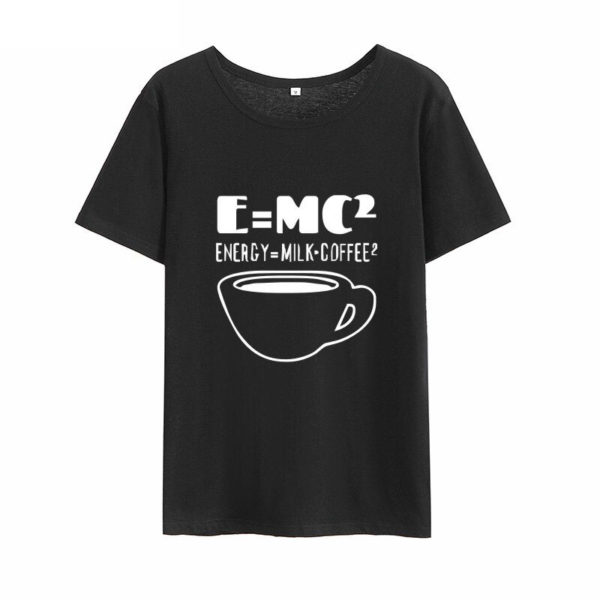 EMC Energy Milk Coffee Black T-Shirt