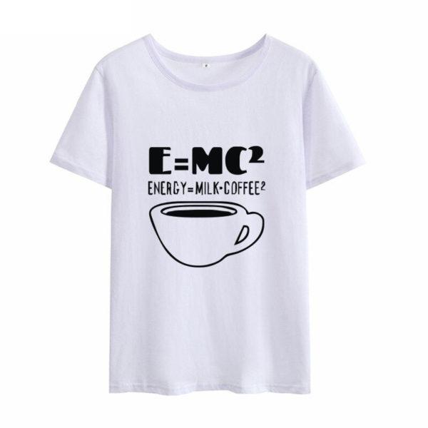 EMC Energy Milk Coffee White T-Shirt