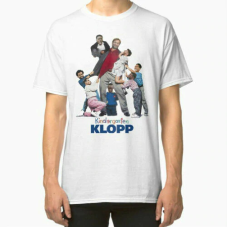 Kindergarten Klopp Liverpool Manager White T-Shirt