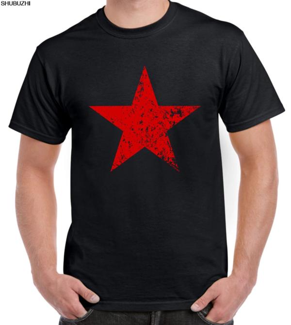 Red Star Black T-Shirt