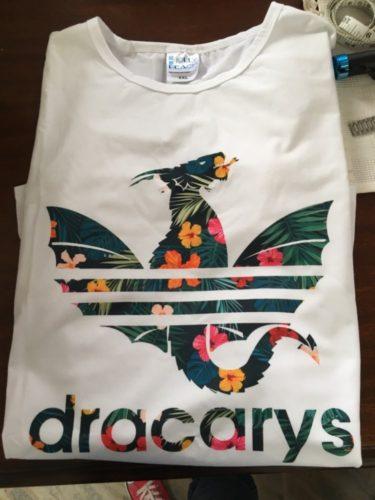 Dracarys Dragon T-Shirt photo review
