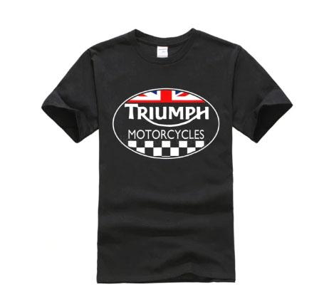 Triumph Motorcycles Summer Black T-Shirt