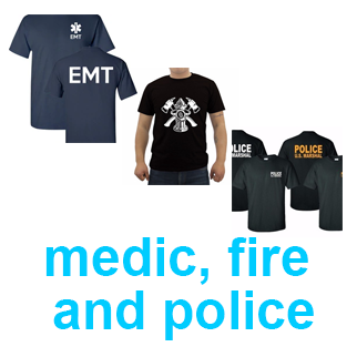 Medic Fire and Police